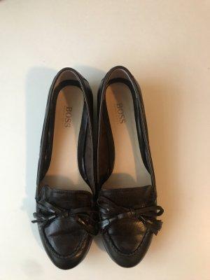 Braune Loafer/Halbschuhe Gr. 39