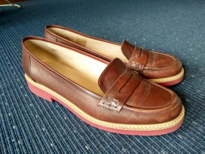 Braune Loafer Leder von Madeleine