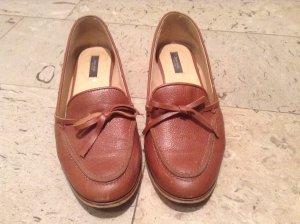 Braune Loafer von zara