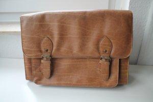 Braune Messanger Bag Schultertasche