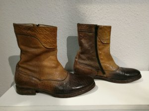Braune MOMA Stiefeletten (italienische Edelmarke)