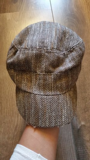 Hat light brown-brown