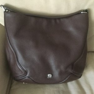 Navyboot Carry Bag brown red-brown leather
