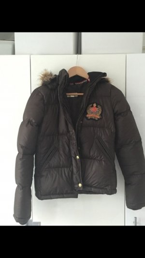 Lauren Jacket Brown Ralph Polo Winter PTXZOkiu