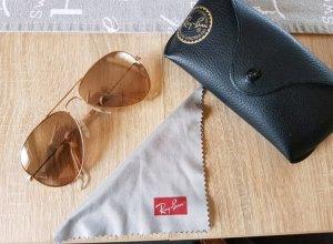 braune Ray Ban Pilotenbrille