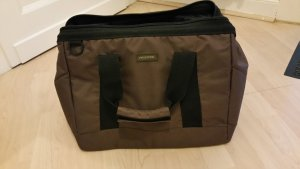 Braune Reisetasche von Reisenthel