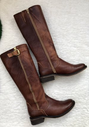 Riding Boots cognac-coloured-gold-colored