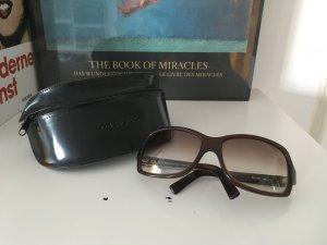 Braune Retro-Sonnenbrille Dolce & Gabbana