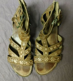 Deichmann Roman Sandals light brown imitation leather