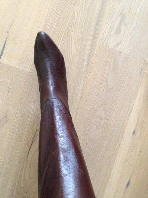 Braune Salamander Vintage Stiefel