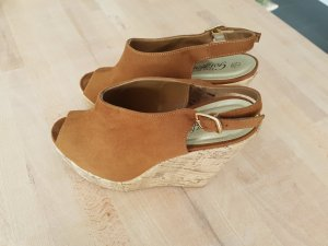 New Look Wedge Sandals bronze-colored-brown