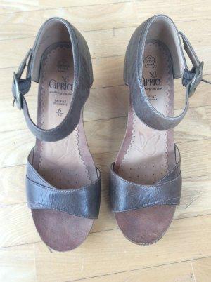 Braune Sandalen von caprice