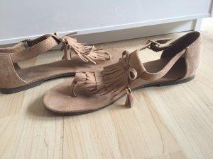 Braune Sandaletten in Größe 39