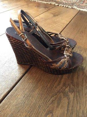 Braune Sandaletten von STEFANEL