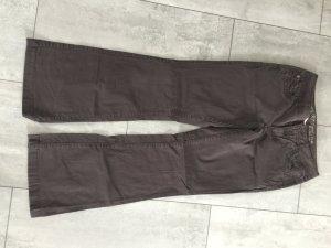 Esprit Pantalón de campana marrón