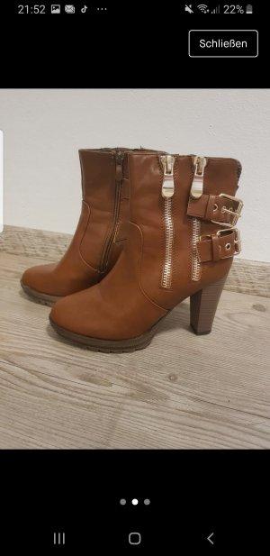 Botas bajas marrón