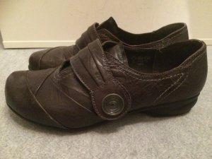 braune Schuhe / Halbschuhe von Reflexan - einmal getragen - Gr. 38