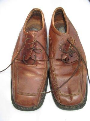 braune Schuhe Vintage Retro Gr. 42