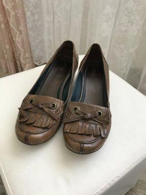 braune Schuhe von s.Oliver