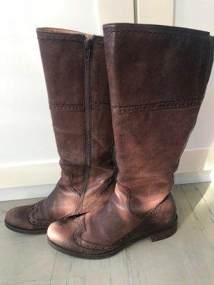 Braune Shabbies Stiefel in Größe 36
