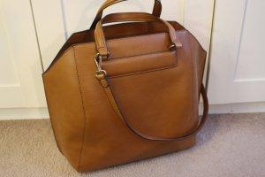 braune Shopper-Bag von Zara