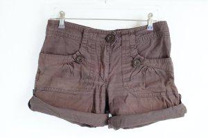 Braune Shorts zum Krempeln von H&M