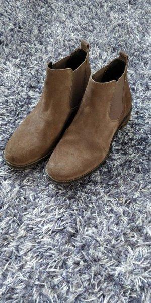 Sioux Short Boots light brown