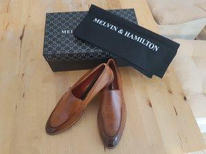 braune Slipper von Melvin & Hamilton