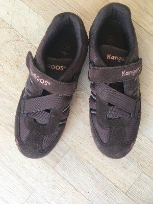 Kangaroos Sneaker con strappi marrone-marrone scuro