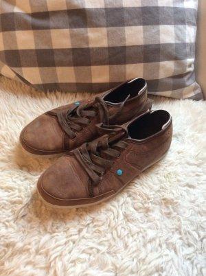 Braune Sneaker von Boxfrehs