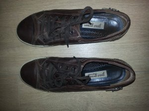 Paul Green Lace-Up Sneaker brown