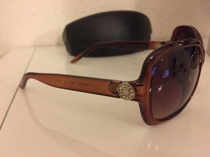 Braune Sonnenbrille ...