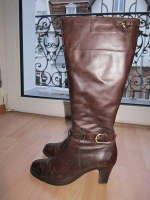 Braune Stiefel Belmondo Gr. 40