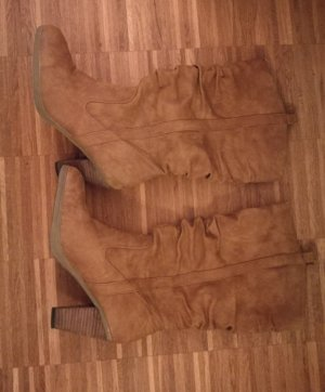 Braune Stiefel, Größe 41