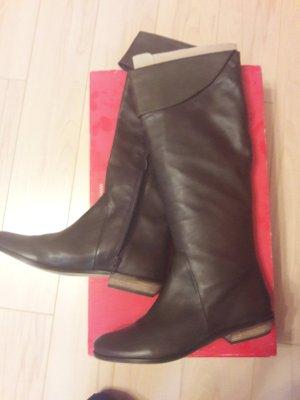 Görtz Shoes Kaplaarzen bruin-donkerbruin