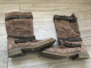 Braune Stiefel von Esprit, Gr. 40