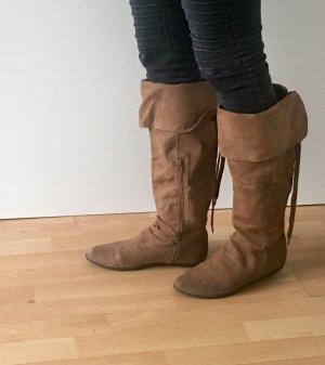 Braune Stiefel von H&M