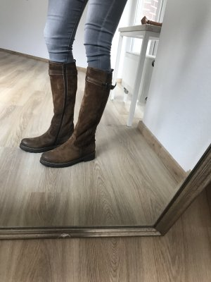 Manas Botas altas marrón