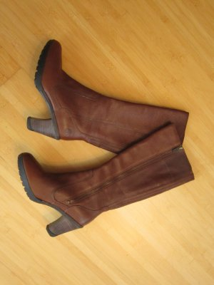 Braune Stiefel von Timberland