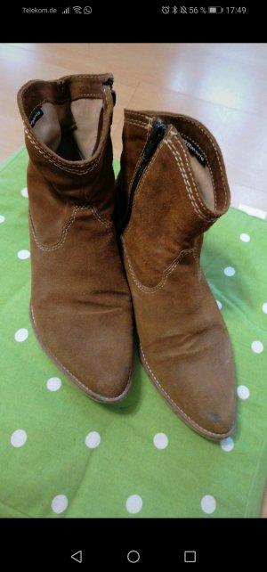 Tamaris Western Booties brown