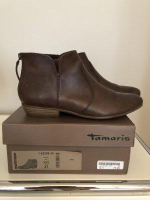Braune Stiefeletten Tamaris
