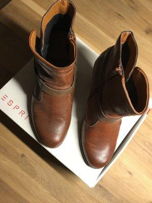 Braune Stiefeletten von Esprit in Gr 39