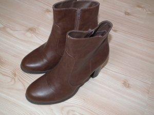 Braune Stiefeletten von lefties (Zara)