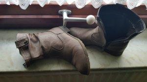 Braune Stiefeletten von Tom Tailor Gr 30
