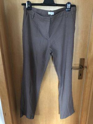 Blue Motion Pantalon chinos gris brun
