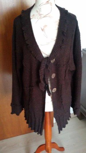 BELLA Wool Jacket dark brown