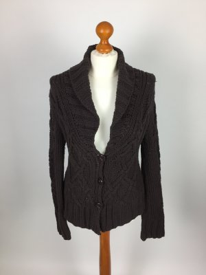 Braune Strickjacke von Ming Casual Wear in Gr. L
