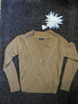 braune Strickjacke von Vero Moda