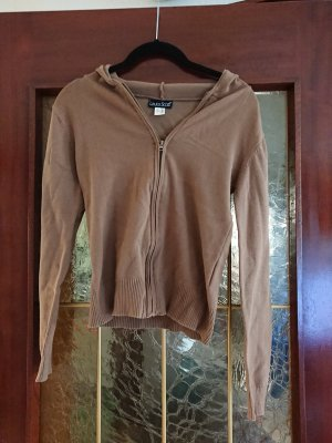 Laura Scott Sweat Jacket light brown
