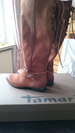 braune Tamaris 37 Stiefel